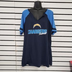 Women's Los Angeles Chargers shirt